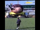 Lionel Messi Beats Giant Robot Keeper