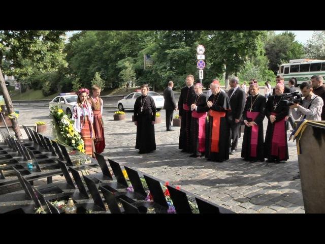 Кардинал П'єтро Паролін вшанував пам'ять Героїв Небесної Сотні