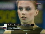 Elena Zamolodchikova (RUS) VT EF World Championships Debrecen 2002