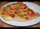 Самая вкусная пицца в домашних условиях в духовке. ПРОСТОЙ пошаговый рецепт! | ДОМАШНИЕ РЕЦЕПТЫ