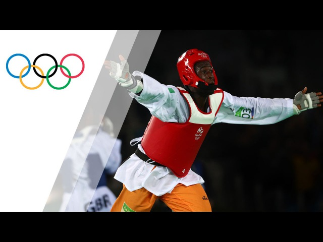 Cisse wins gold in Men's 80kg Taekwondo