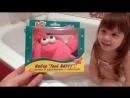Катя и игрушки купаемся в ванной с набором для купания Baffy видео для детей FineTV