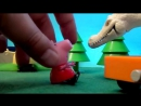 Peppa Pig свинка Пеппа и ее семья Мультфильм для детей. Музей Динозавров