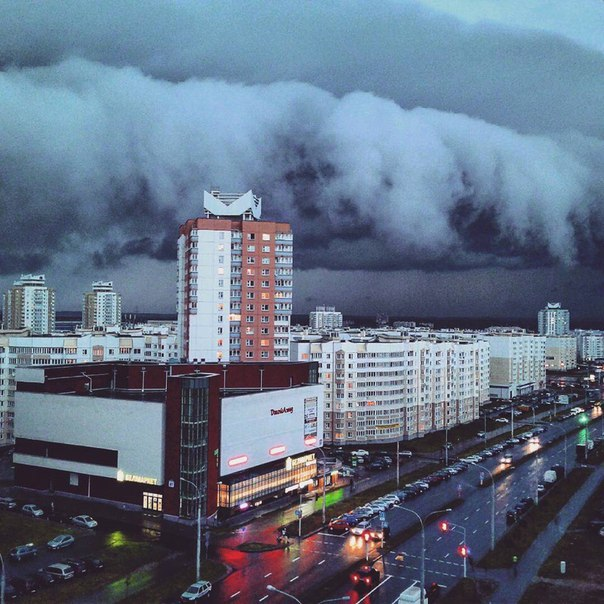 Позавчера в Минске выпала четверть месячной нормы осадков.