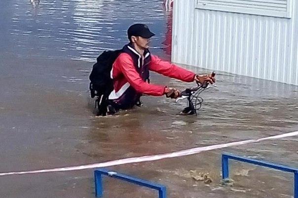 Топ-10 снимков потопа в Минске