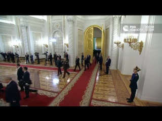 Встреча Путина с главой Узбекистана Мирзиеевым