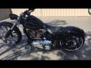 Custom Harley Davidson FXSB Breakout