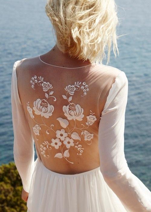 LynxuhJQAp8 - Свадебные платья, изысканные и богемные (6 фото)