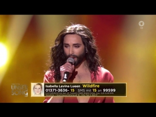 Conchita Wurst, Nicole & Ruslana - 'Satellite' (Unser Song 2017 ESC Germany)