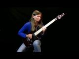 Лунная соната Бетховена в исполнении 17-летней гитаристки Тины С