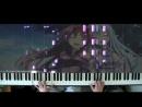「Sword Art Online II」 ED3 - Shirushi (piano solo)