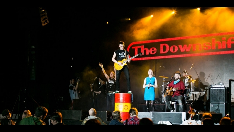 The Downshifters - Отвали. Aurora Concert Hall. Epic guitar solo EVER! Vlad plays on top of Shell Barrel