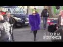 """Lady Gaga прибывает в """"Grand Palais"""" в Париже, 291116"""