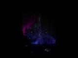 Видео-футаж на замке Диснея  + салюты 🎆