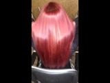 BOTOX on PINK HAIR