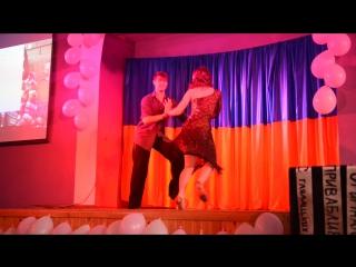 Настя Перчук Танець 1 частина на міс Ліцею 2016