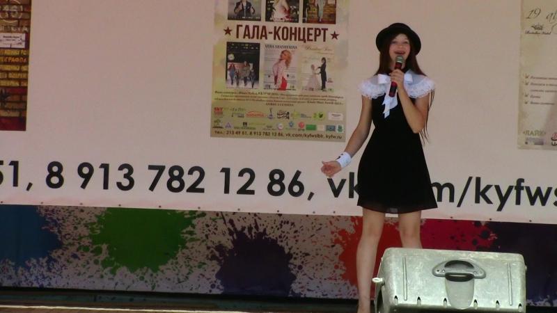 Леди Совершенство из к/ф Мэри Поппинс. Вероника Крохина. KIDS AND YOUTH Fashion Week Sibir 2016.