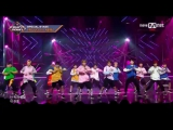PERF 170427 PRODUCE 101 A Level - PICK ME Special Stage  M COUNTDOWN EP.521  (Noh Taehyun, Ha Sungwoon HOTSHOT)