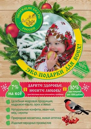 Макет №6 Денис Чевпецов (г. Санкт-Петербург ) Макет листовки к праздникам.