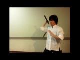Ryoji Okamoto - Базовые комбинации нунчак. Часть 1.