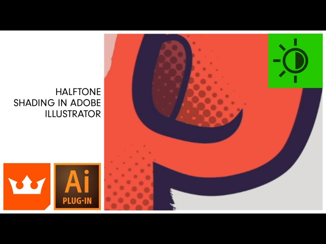 Halftone Shading in Adobe Illustrator | PHANTASM v3