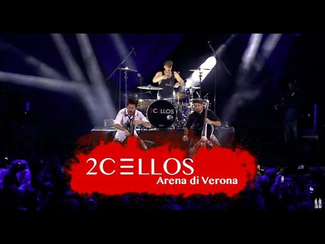 2CELLOS The Trooper Overture Live at Arena di Verona