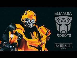 Bumblebee Transformers El Magia Robots