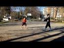 I 33 vs Bolognese Sword and Buckler Sparring
