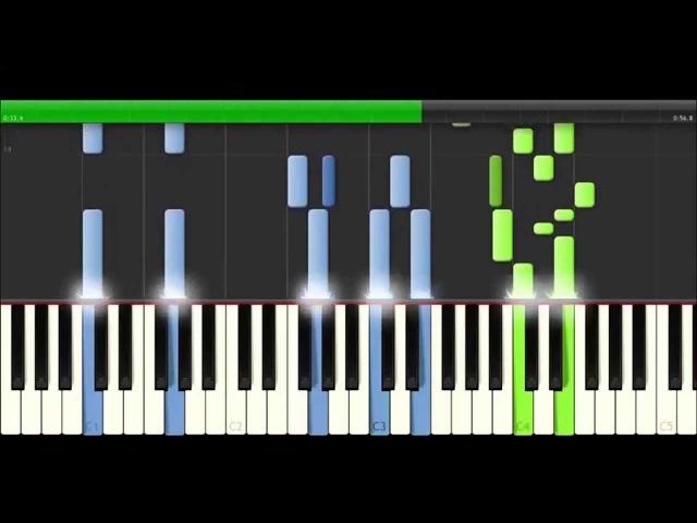 Stargate SG1 theme on piano ( synthesia )