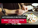 Healthy and Easy Pita Pizza Recipe