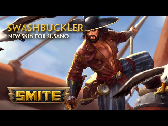 SMITE New Skin for Susano Swashbuckler