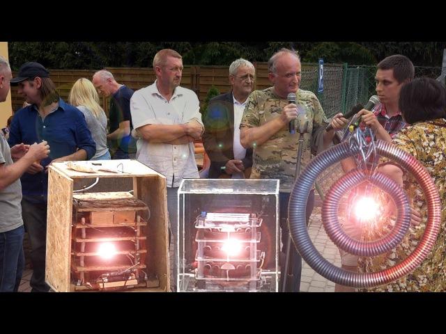 REWOLUCJA ENERGETYCZNA pierwsza publiczna prezentacja reaktora Magrav Keshea. Łańcuch Życia 3