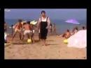 Ржачный прикол на пляже! Использовал голову вместо мяча! Веселый летний отдых