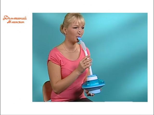 Дыхательный аппарат-тренажер «Самоздрав». аппарат для дыхания - физкультурный имитатор на domatvru