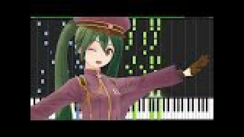 Senbonzakura (千本桜) - Hatsune Miku [Piano Tutorial] (Synthesia) The Piano Devil
