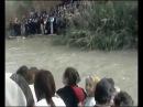 Великое чудо Божие на Крещение! Поворот реки Иордан вспять.