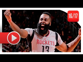 James Harden Triple-Double Highlights vs Clippers (2016.12.30) - 30 Pts, 13 Reb, 10 Ast, BEAST!
