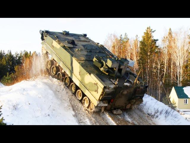 Курганец-25. Как мы носились на новейшем бронетранспортере. Russian army
