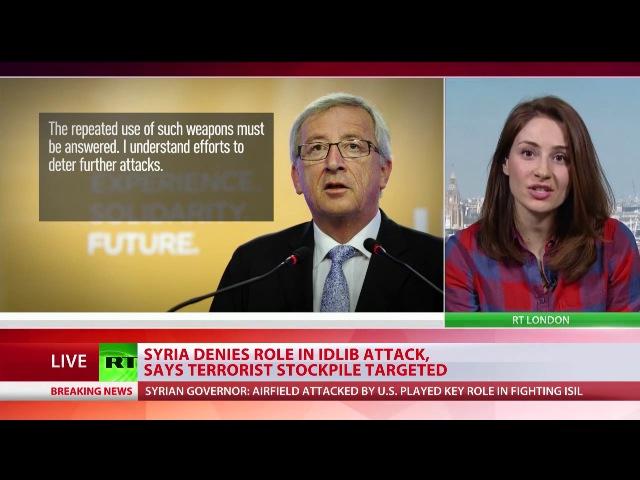 Ohne Ermittlungen: Westen unterstützt US-Angriff auf Syrien mit Marschflugkörper