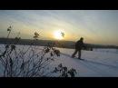 20 км пешком по тайге в мороз -30 с ночевкой в палатке УП-2