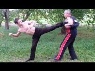 Техника ударов ногами. Драка. Как научиться драться