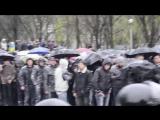 Запорожье.13 апреля,2014.Последний день сопротивления в Запорожье.