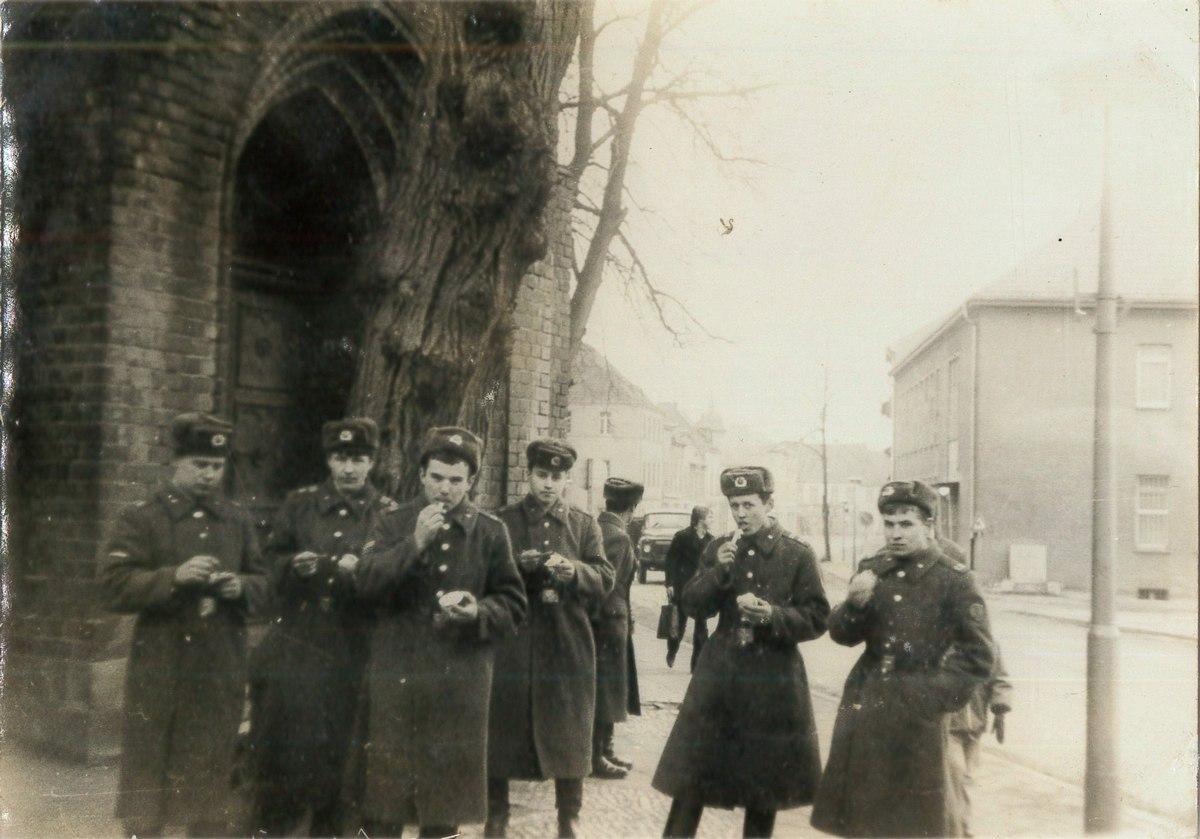 Наши в ГДР: Группа советских войск в Германии