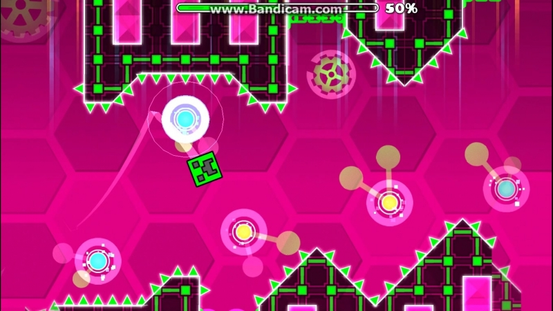 GeometryDash уровень hexagon force