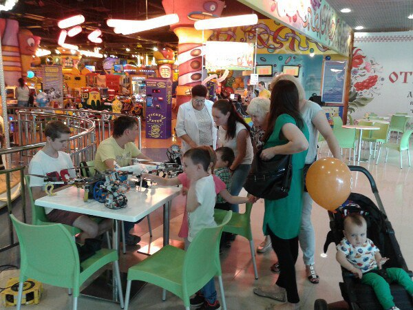Выставка и мастер-классы в Фанки Таун
