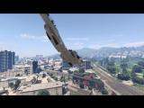 Дружелюбный летчик в GTA Online помог с поиском хорошего места для парковки.