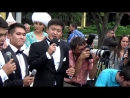 Kazahstanci pevaju pesmu Luckasta si ti Beograd 2016 HIT Miroslav Ilic