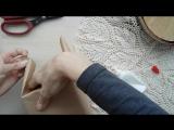 обзор шкатулки для украшений в стиле Шебби Шик и шарика -шейкера