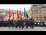 РВВДКУ и 331 ПДП на Красной Площади 9 мая 2017 г
