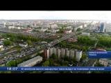 Пермяковский мост. Дорожная ситуация в прямом эфире с высоты птичьего полета
